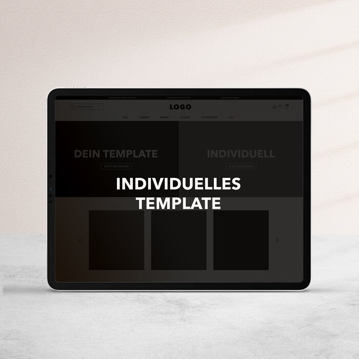 Individuelles Template